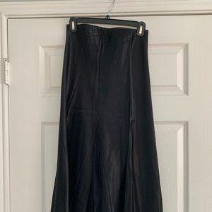 Nasty Gal Silky Midi Skirt